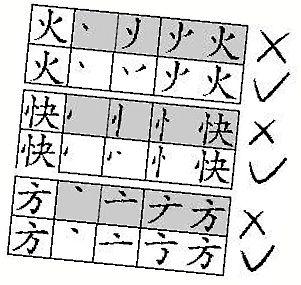 据称国家语委会调整汉字笔顺 多少字没写对
