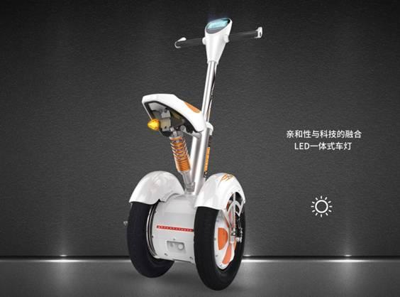 两轮平衡车品牌排行 首选Airwheel A3 - 产经新