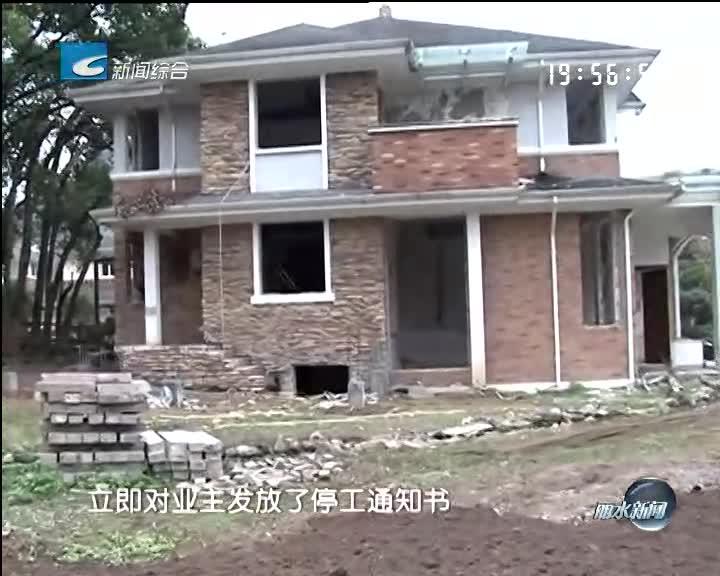 [电视问政·反馈]白云花苑住户违法占地装修被叫停