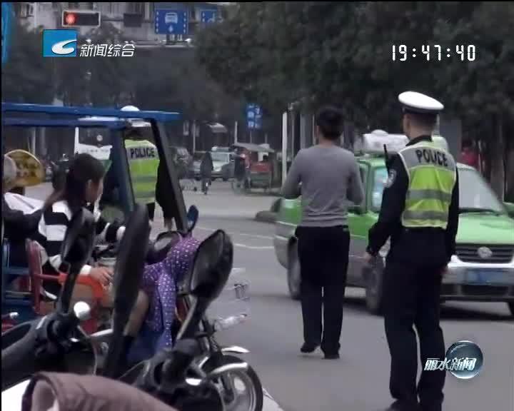 [电视问政.反馈]:支队机关民警到路面一线参与交通管理