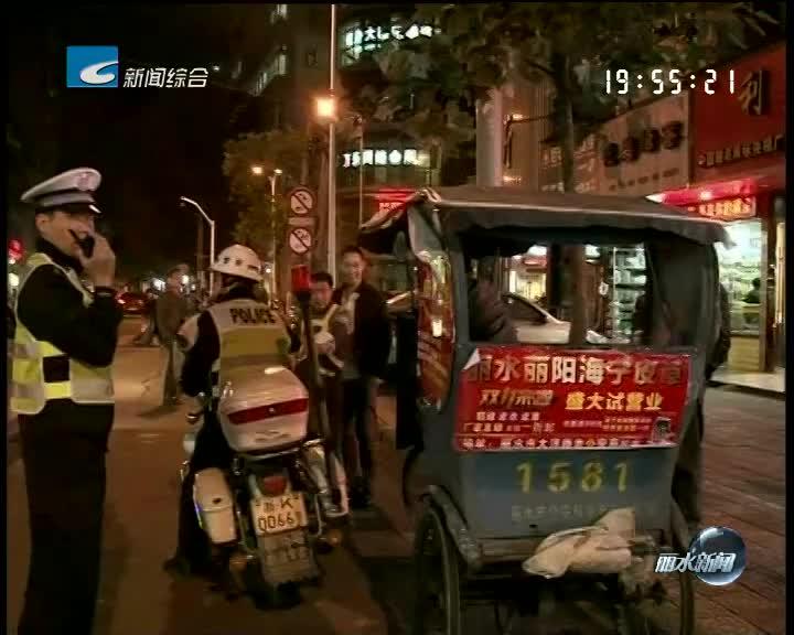 [电视问政·反馈]:交警部门整治改装三轮车