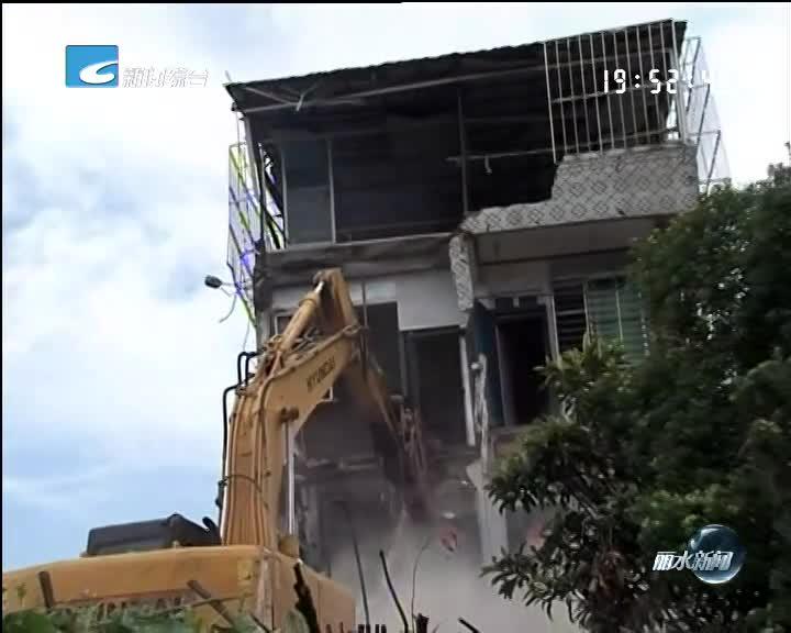 """""""电视问政·反馈"""":市行政中心城北区块一处房屋今天腾空拆除"""