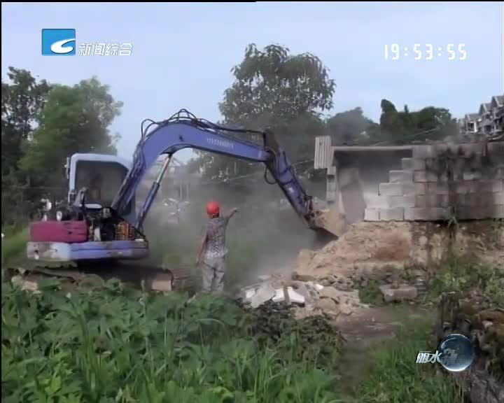 电视问政·反馈:枫树岗村又有一幢房子被拆除
