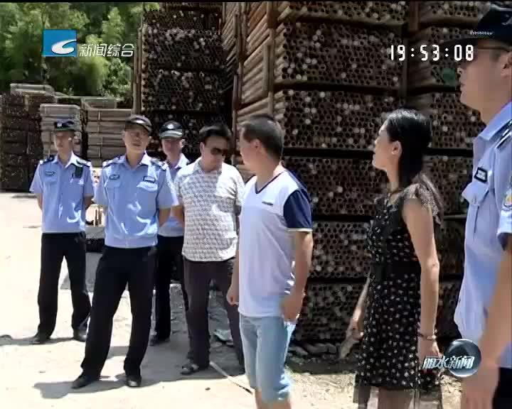 《每周聚焦》反馈:松阳西屏街道长虹西路106号违章屋棚及时整改