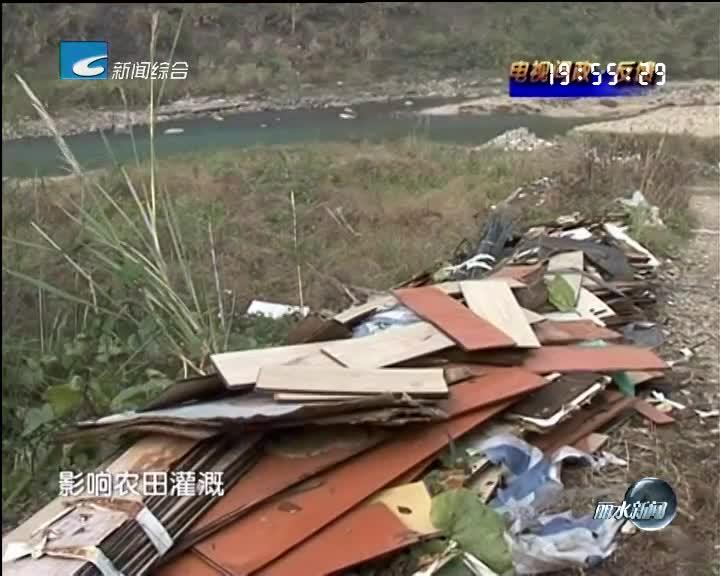 [电视问政·反馈]太平村的几处建筑垃圾得到及时处理