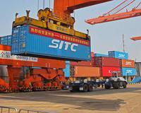 温州港首条东南亚集装箱班轮航线正式开通
