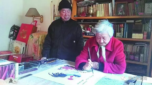 71岁学绘画,会否太晚?听听丽水这对耄耋伉俪怎么说