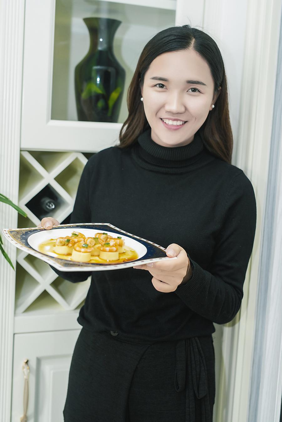这个能干的90后女孩,还能做得一手好菜