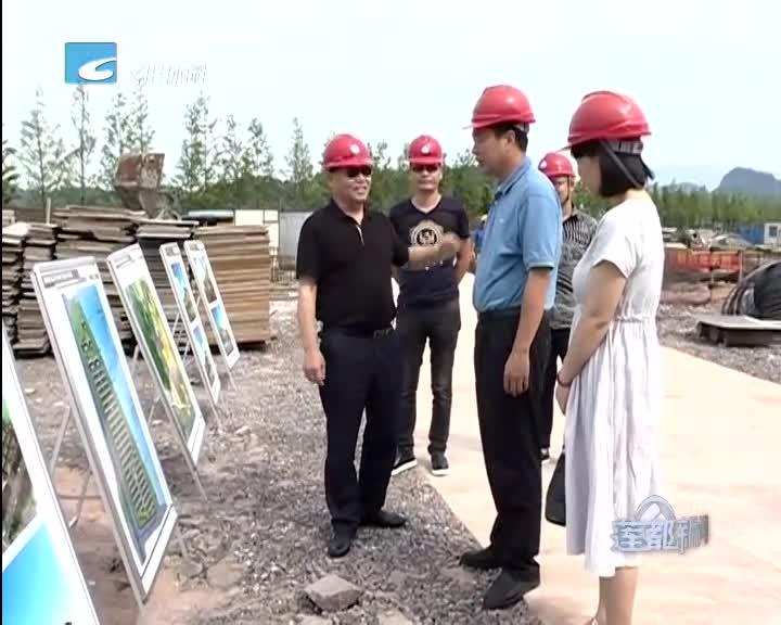区人大常委会主任陈元龙实地调研坑口村苏埠圩安置小区项目