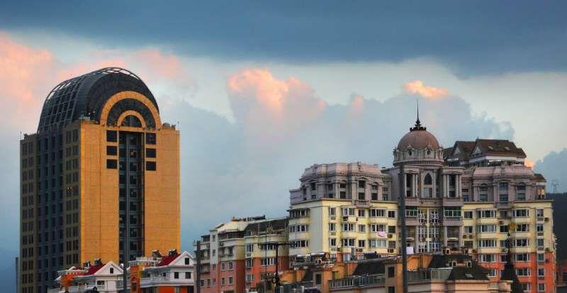 青田欧陆建筑:西式建筑里包围的中国心