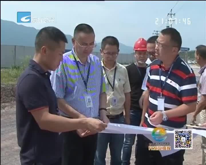 丁绍雄调研桐岭溪治理情况 研究水质提升工作
