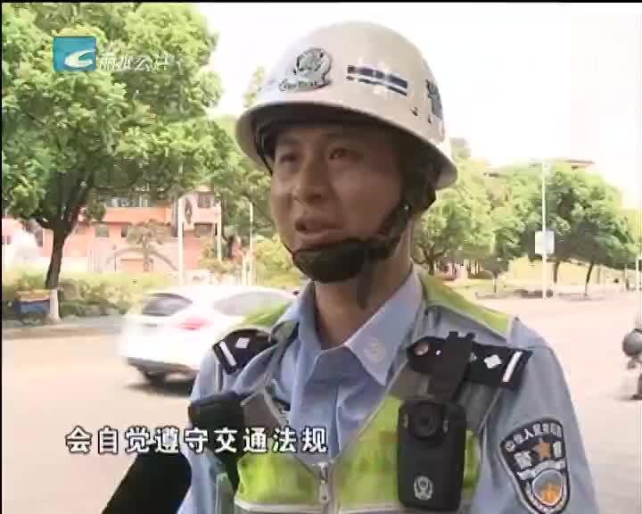 【我在创建文明城市一线】(五):交警王春成:坚守岗位 履行职责