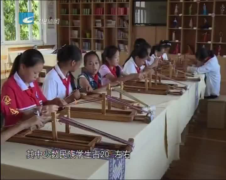 老白讲文明 乡村学校少年宫促未成年人全面发展