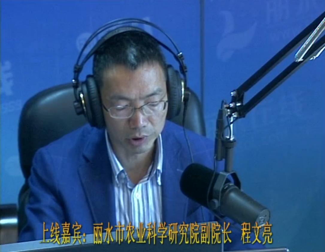 丽水市农业科学研究院副院长  程文亮