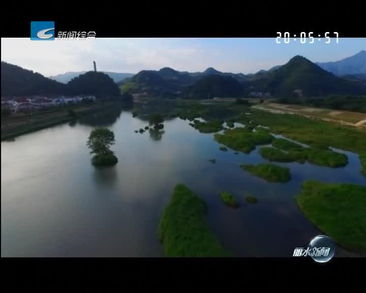 松阳松阴溪成为省级湿地公园