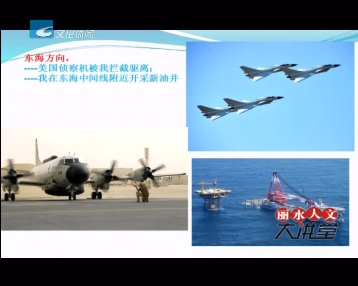 【丽水人文大讲堂】新海权时代——当前中国周边 安全新挑战和应对(二)