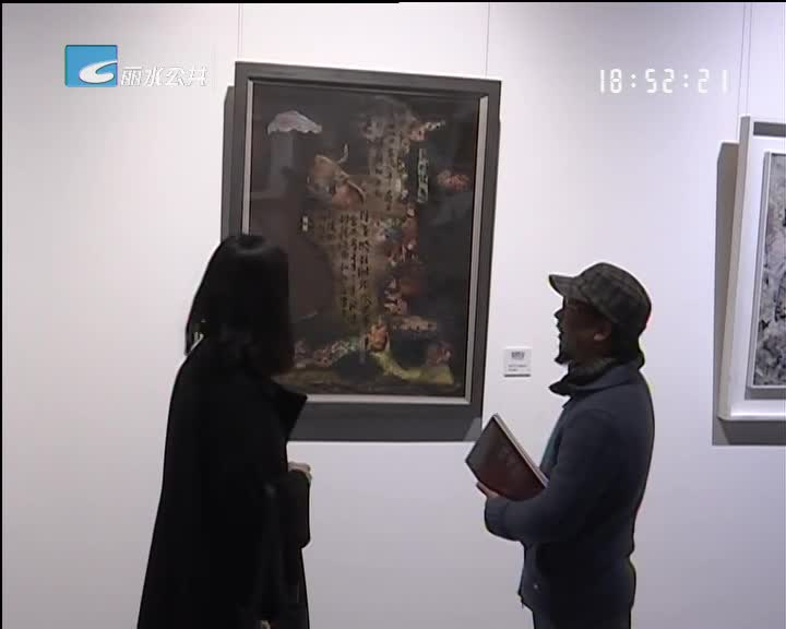 """省综合艺术展为丽水带来""""不拘一格""""艺术盛宴"""