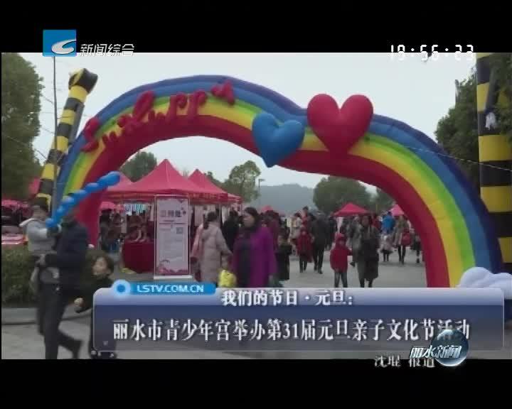 丽水市青少年宫举办第31届元旦亲子文化节活动