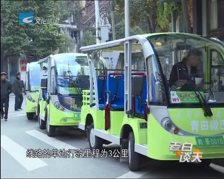 """青田:城市""""微公交""""今天开通 招手即停环保便捷"""