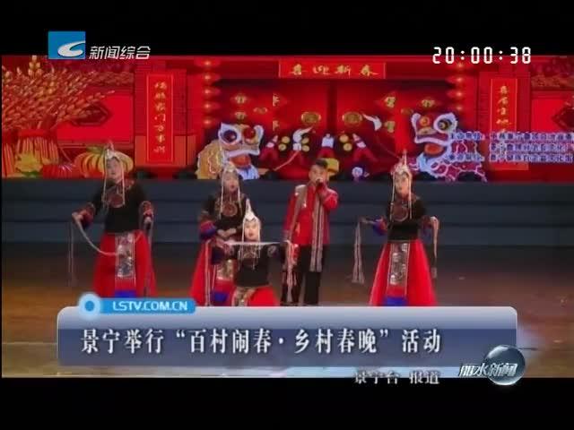 """景宁举行""""百村闹春·乡村春晚""""活动"""