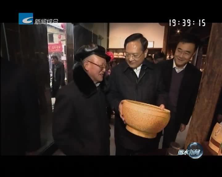 张兵春节期间赴全市9县(市、区)开展走访慰问调研活动