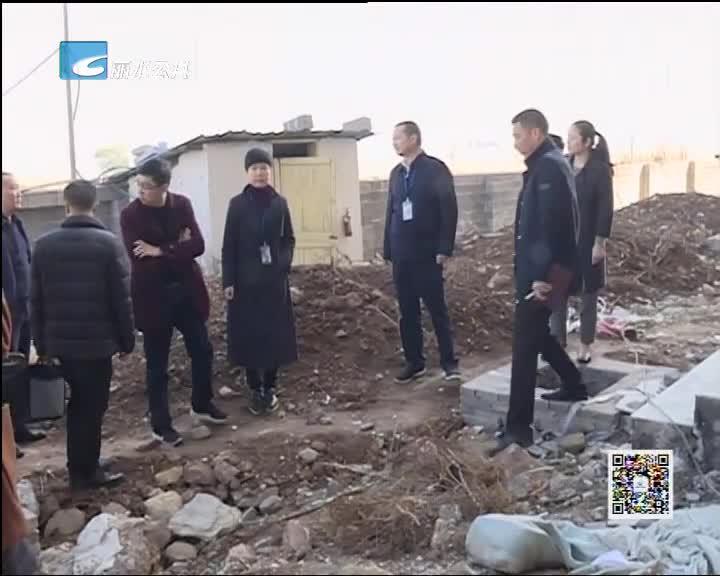 委领导现场办公 解决村集体项目推进难题