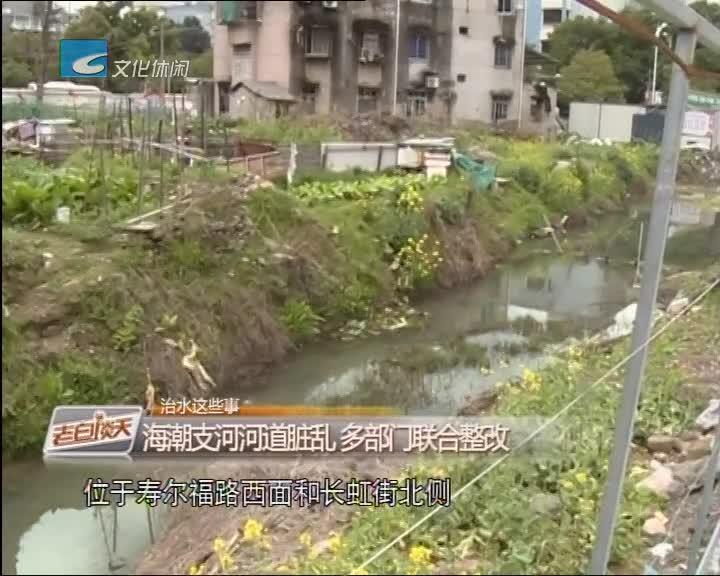 治水这些事:海潮支河河道脏乱 多部门联合整改