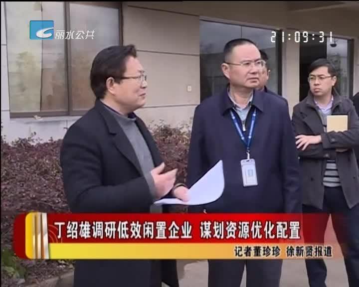 丁绍雄调研低效闲置企业 谋划资源优化配置