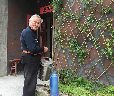 吴友达:生活在《溪岸图》中的老人