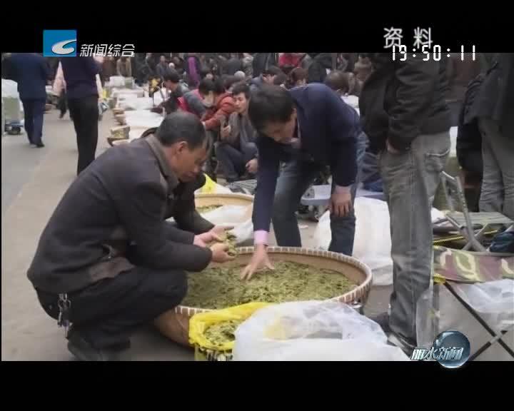 丽水金名片:浙南茶叶市场:中国绿茶第一市