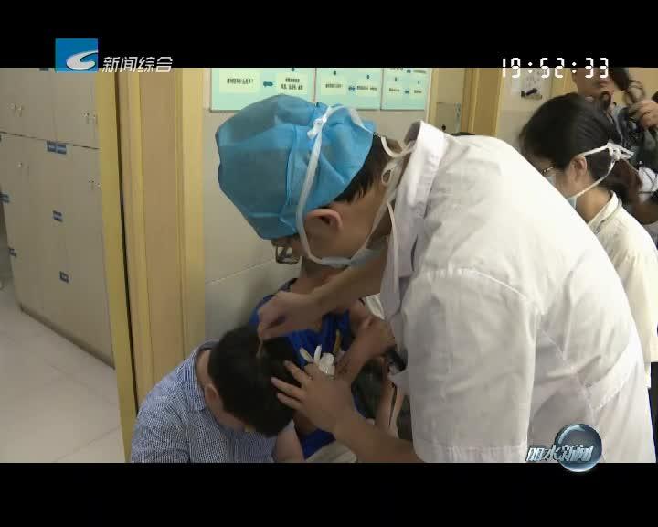 课间操后师生遭遇马蜂突袭 医生提醒蜇伤后需及时就医