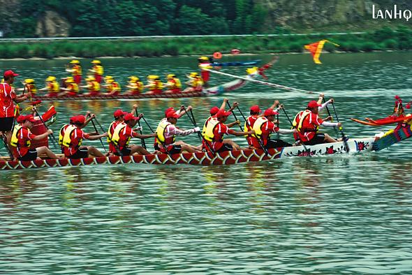 青田船寮龙舟文化节:文化的传承  村民的狂欢