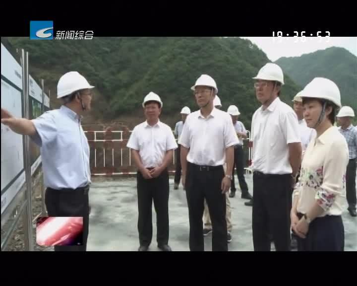 史济锡在丽调研重点项目建设并参加人大代表联络站活动