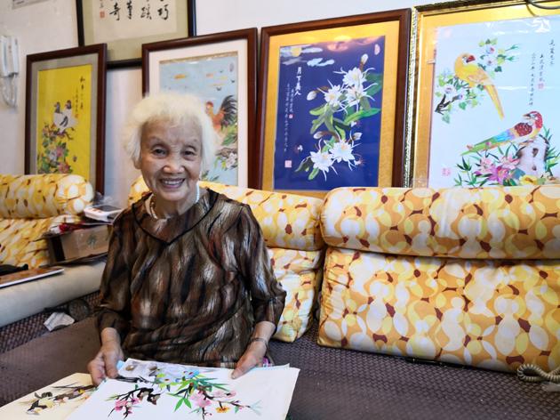 王浣清:用剪纸画滋养一颗明亮宁静的心