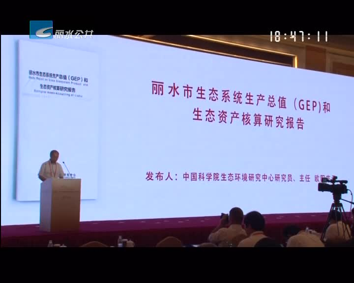 生态产品价值实现机制国际研讨会在丽举行