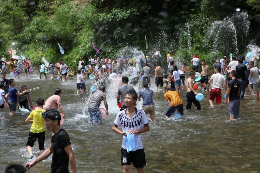 三伏天去庆元深山里 玩水、巡山、当小妖!!!