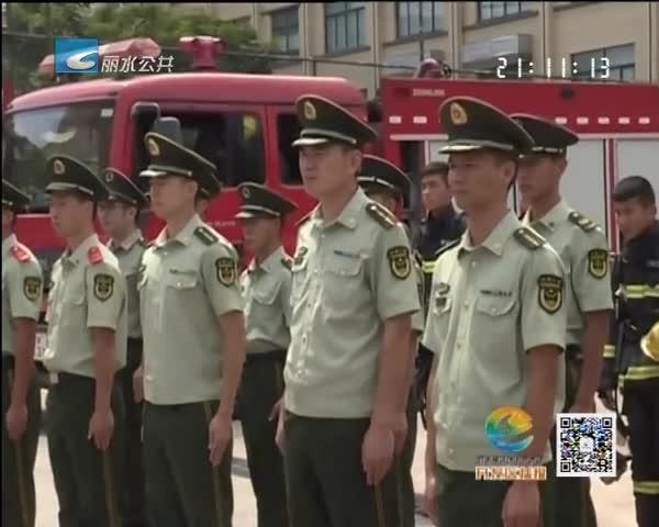 开发区领导走访慰问部队官兵
