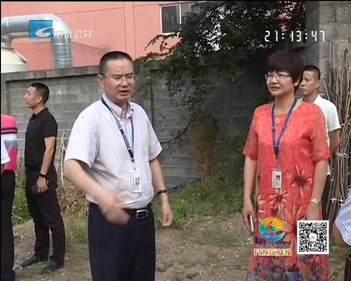 丁绍雄听取吴垵城中村改造工作推进情况 研究解决尾留问题