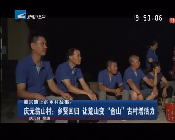 """振兴路上的乡村故事:庆元翁山村:乡贤回归 让荒山变""""金山"""" 古村增活力"""