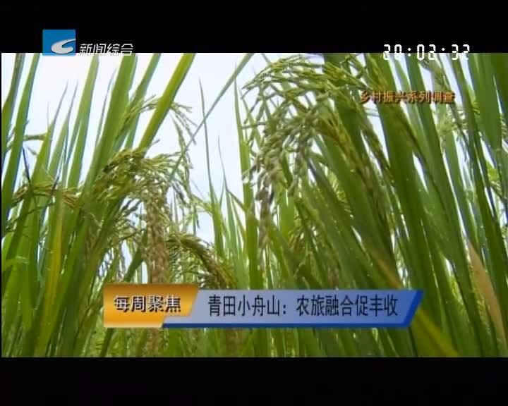 【每周聚焦】青田小舟山:农旅融合促丰收