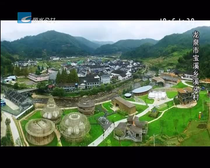 """龙泉溪头村获评""""全国生态文化村"""""""