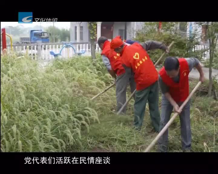 莲都党代表履职在基层 农村振兴有新路