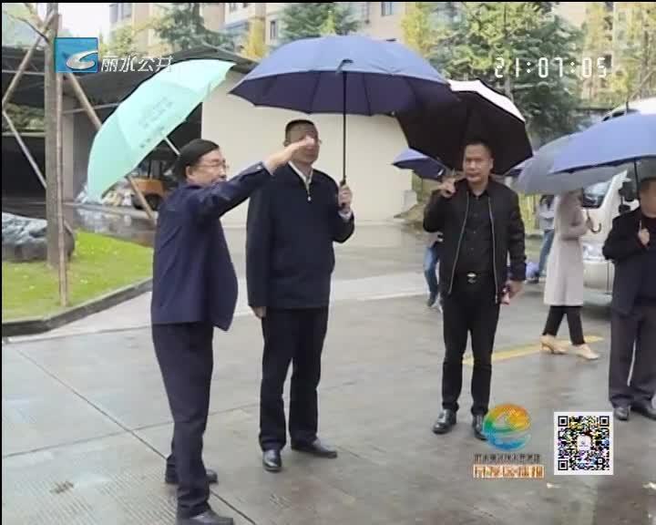 丁绍雄调研重点企业 上门送政策送服务