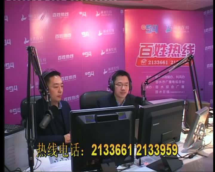 丽水市邮政管理局党组成员、副局长 朱伟强