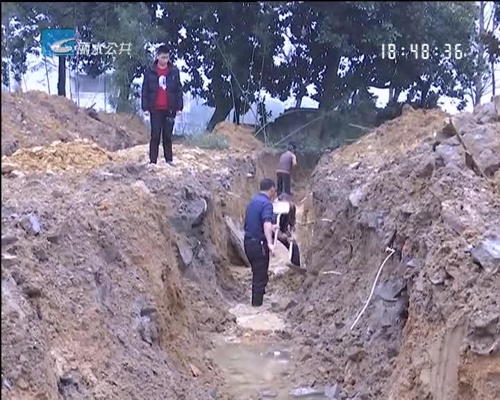 发现水沟 卢镗墓遗址考古勘探工作取得初期成果