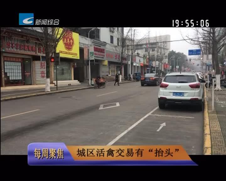 """【每周聚焦】城区活禽交易有""""抬头"""""""