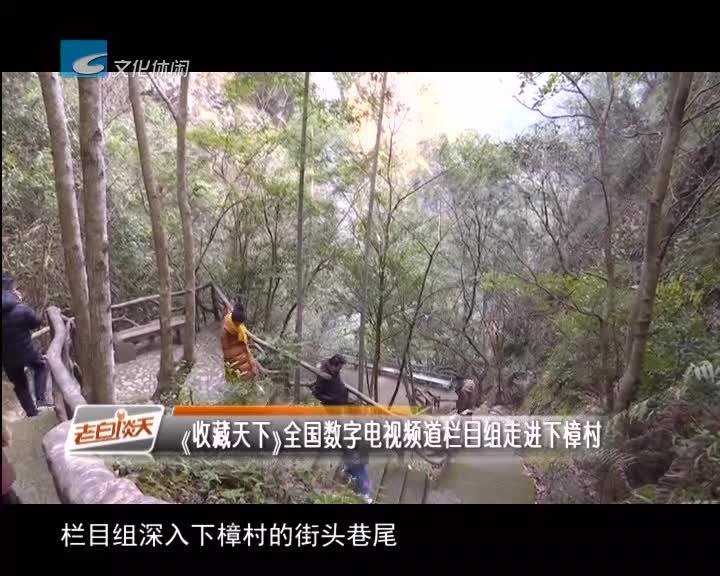 《收藏天下》全国数字电视频道栏目组走进下樟村
