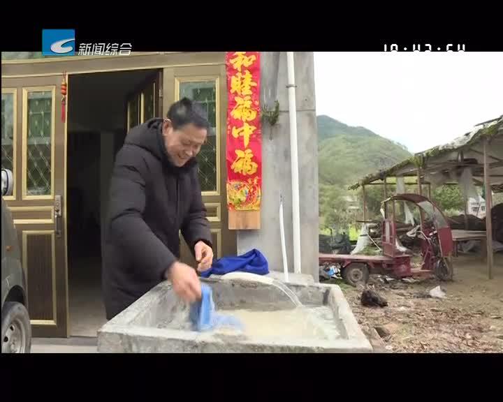 【风采】农村饮用水达标提标水利在行动