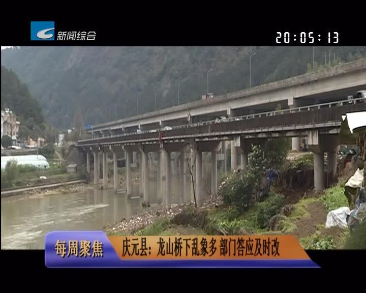 【每周聚焦】庆元县:龙山桥下乱象多 部门答应及时改