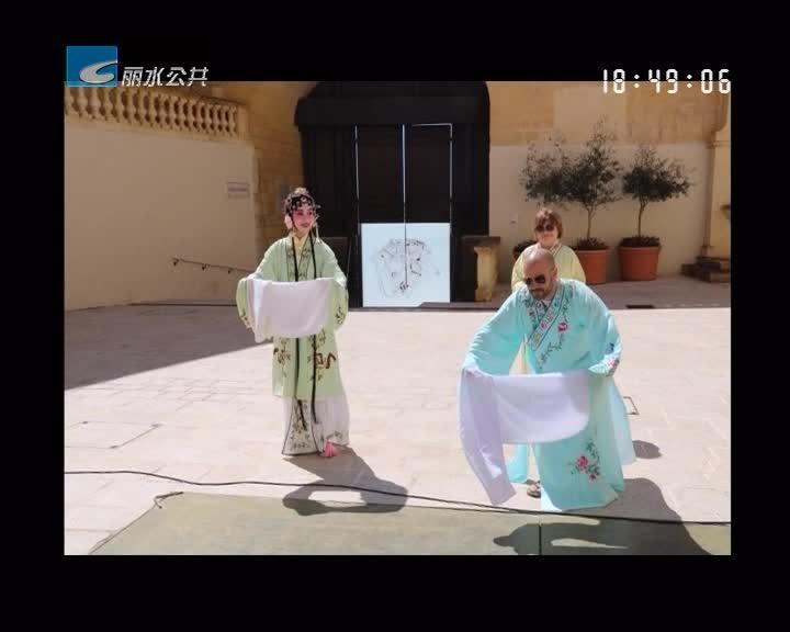 惊艳四座!遂昌代表中国赴马耳他开展文化交流